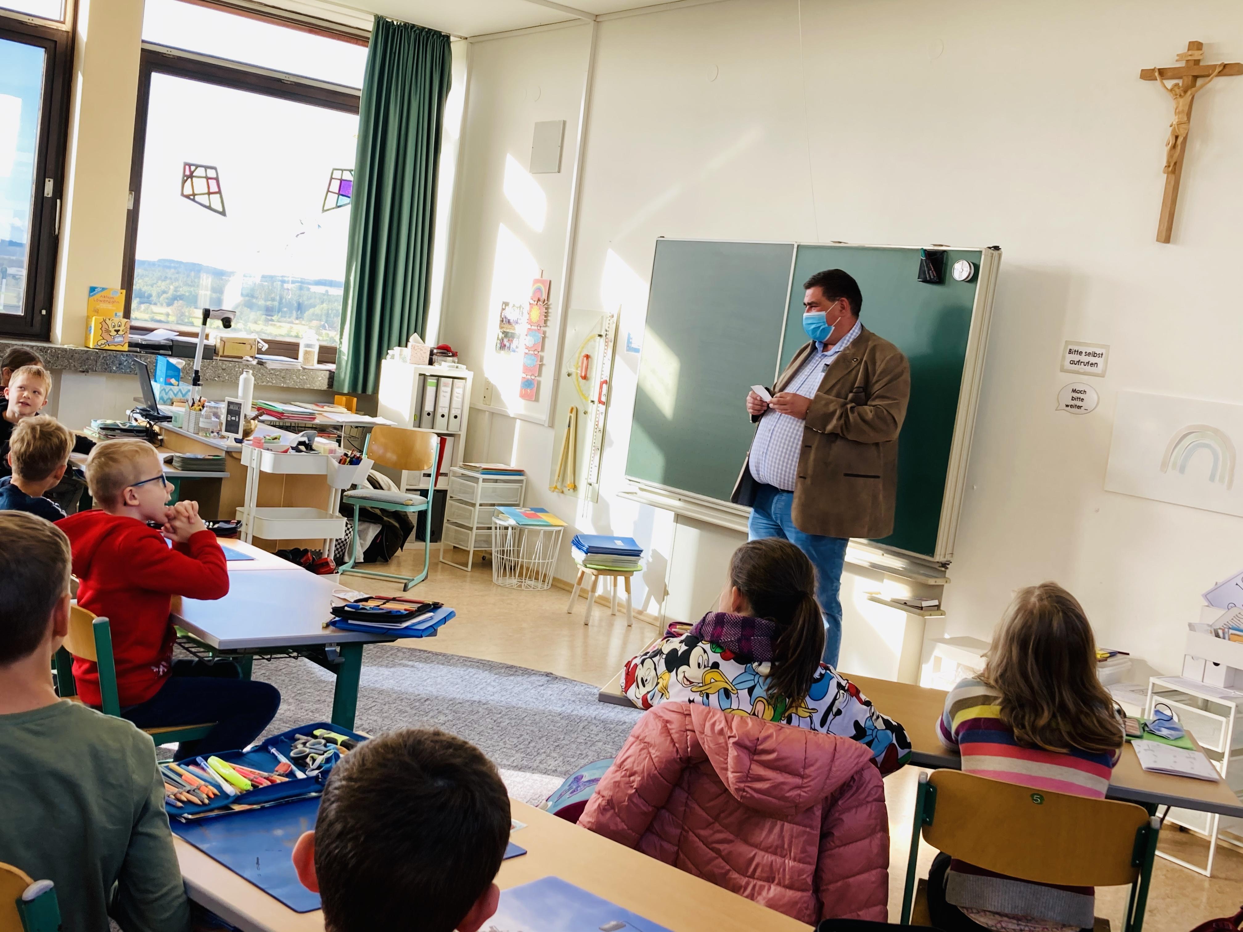 Lehrer spricht schmutzig Student
